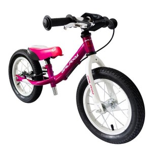 Running Bike Kosmik, pompowane opony, kolor fioletowo/biały