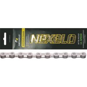 Łańcuch MTB/ROAD S11,116 ogniw,11-rzędowy, rozmiar: 1/2 x11/128 cal ,srebrny