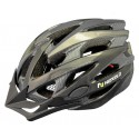 Kask rowerowy Straight, tech., out-mold, kolor: czarny, roz L: 58-61cm