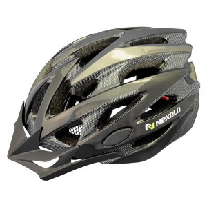 Kask rowerowy Straight, tech., out-mold, kolor: czarny, roz L: 58-61cm