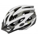 Kask rowerowy Straight, tech., out-mold, kolor: biały, roz M: 55-58cm