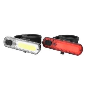 Zestaw lamp akumulatorowych: 10 LED-CHIP- 30 lumenów-8 f., wodoodporny design: IPX44, Micro-USB