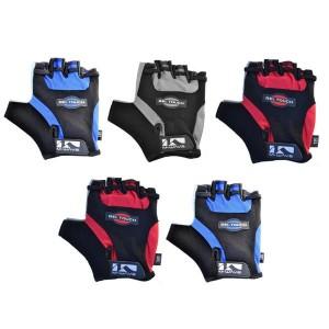 Rękawiczki rowerowe M-Wave, żelowe, rozmiar M, kolor mix, opak. 5 szt.