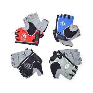 Rękawiczki rowerowe, żelowe, rozmiar L, kolor mix