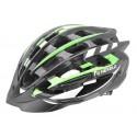 Helmet NEX-ONE, In-Mold, black&green, size L: 58-61mm