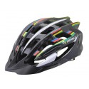 Helmet Straight, Out-Mold, yellow&black, size L: 58-61mm