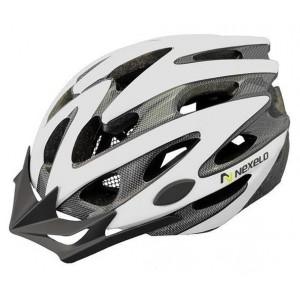 Kask rowerowy Straight, tech., out-mold, kolor: biały, roz M: 55-58cm